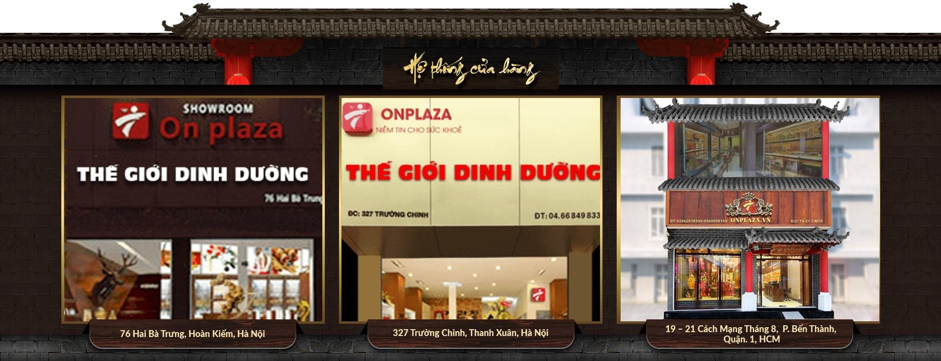Công ty Onplaza là công ty hàng đầu thị trường dinh dưỡng