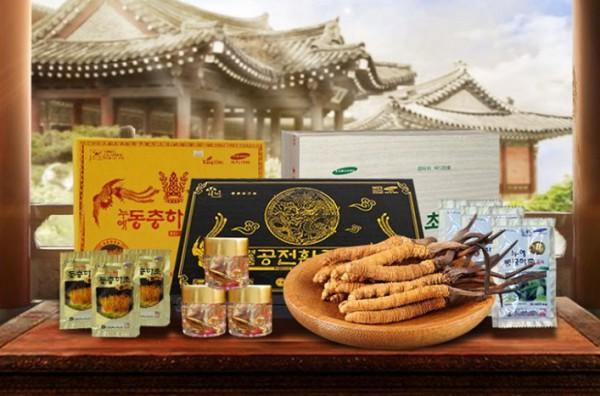 Đông trùng hạ thảo Hàn Quốc nhập khẩu chính hãng 100%