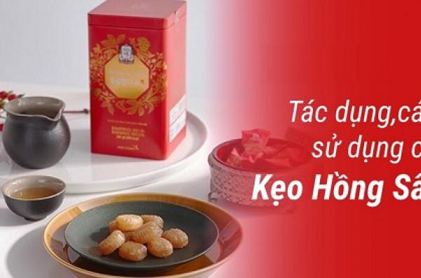 Tác dụng của kẹo sâm Hàn Quốc đối với từng đối tượng