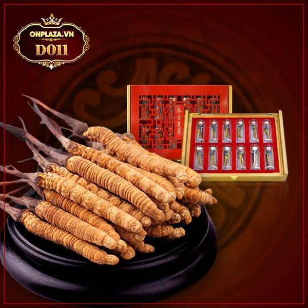 Đông trùng hạ thảo Tây Tạng nguyên con hộp 50gr D011