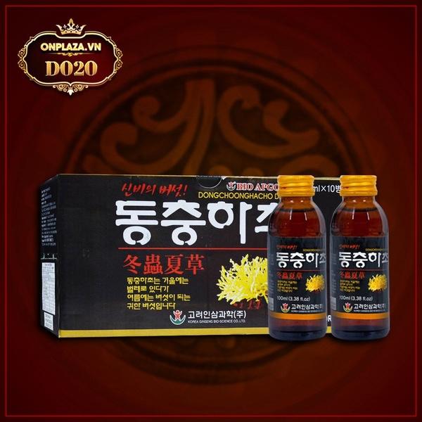 Nước đông trùng hạ thảo Bio Apgold nhập khẩu Hàn Quốc