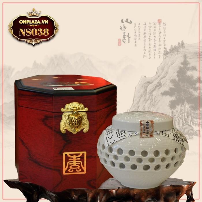 Cao Hoàng Hậu đặc biệt loại 500g hộp màu nâu NS038