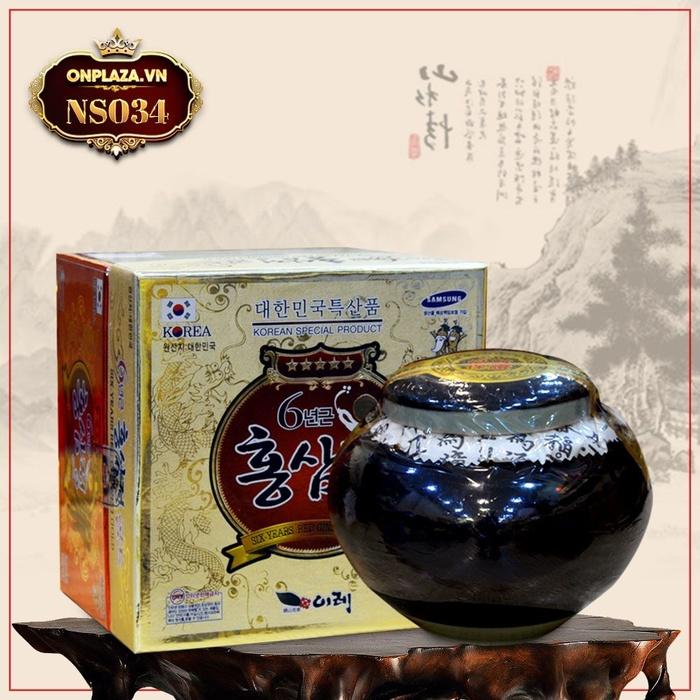 Cao hồng sâm Hàn Quốc cao cấp hộp sứ xanh 1kg NS034