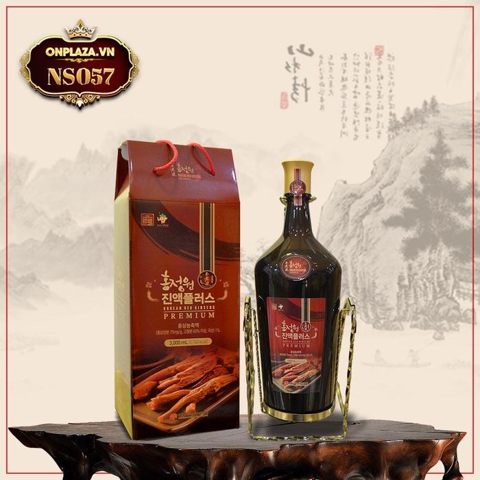 Nước ép hồng sâm Hàn Quốc thượng hạng chai 3 lít NS057