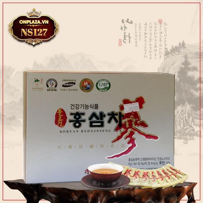 Trà hồng sâm Daedong nhập khẩu Hàn Quốc loại 50 gói NS127