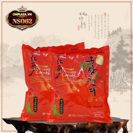 Kẹo hồng sâm Hàn Quốc cao cấp 300gr NS062