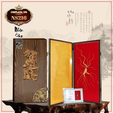 Hộp quà tặng sâm núi ngàn năm tuổi thượng hạng NS216