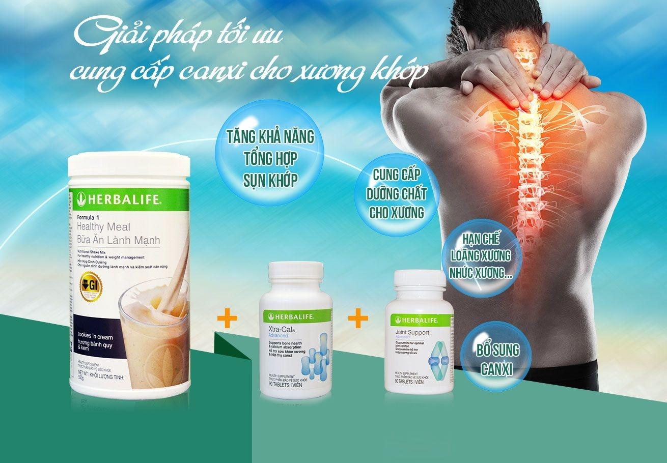 Bộ sản phẩm Herbalife hỗ trợ xương khớp H0125