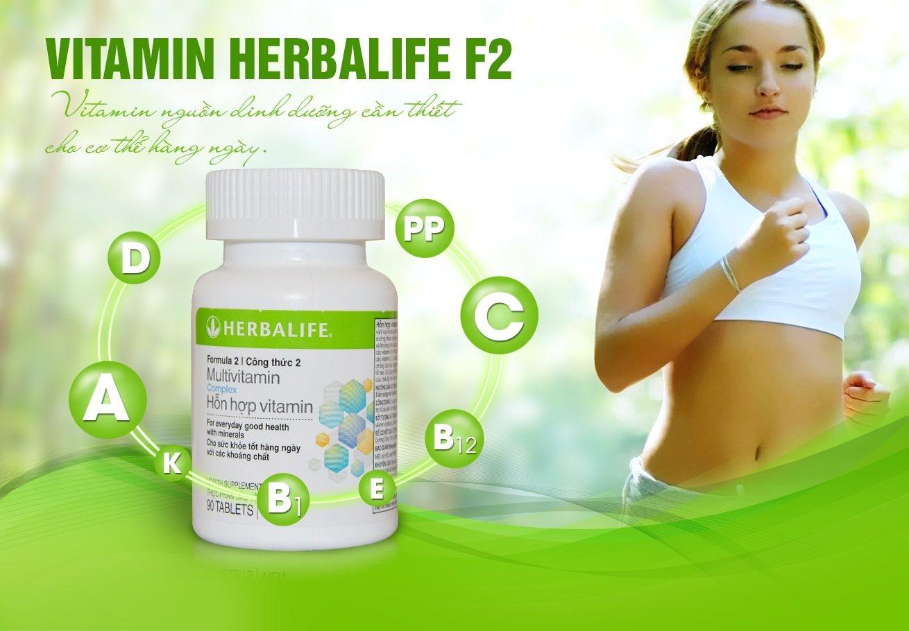 Thực phẩm bổ sung vitamin Herbalife dạng viên F2 H003