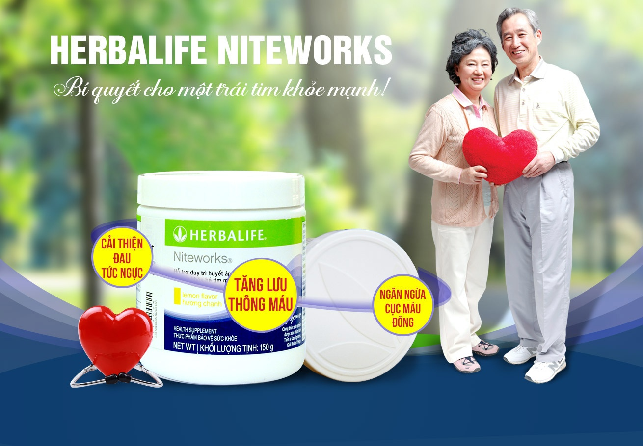Thực phẩm hỗ trợ tim mạch Herbalife Niteworks H005