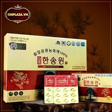 Viên tinh dầu thông đỏ Chính Phủ Hàn Quốc Dami Hansongwong cao cấp 120 viên K412