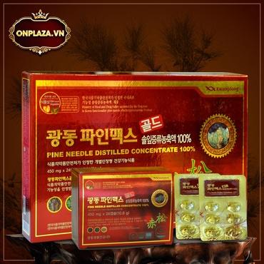Viên Tinh Dầu Thông Đỏ Hàn Quốc Kwangdong Chính hãng hộp 120 viên K411