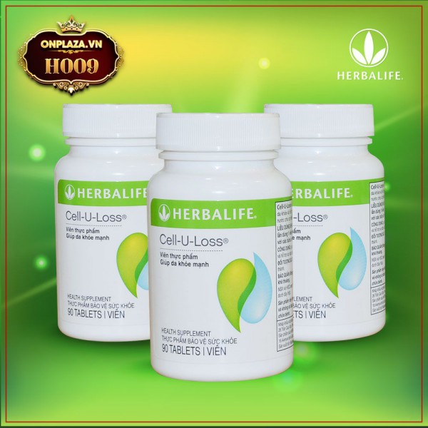Herbalife Cell U Loss hỗ trợ làm đẹp da H009