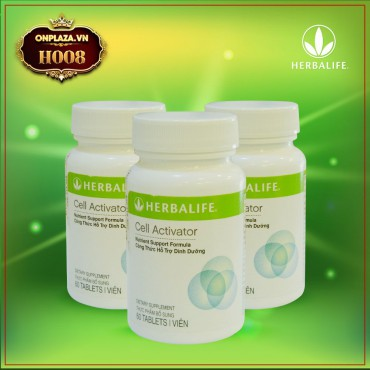 Herbalife Cell Activator hỗ trợ chống oxi hóa H008