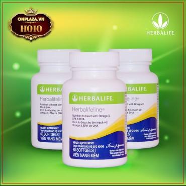 Herbalifeline – Hỗn hợp dầu cá hỗ trợ tim mạch Omega 3 6 9 H010