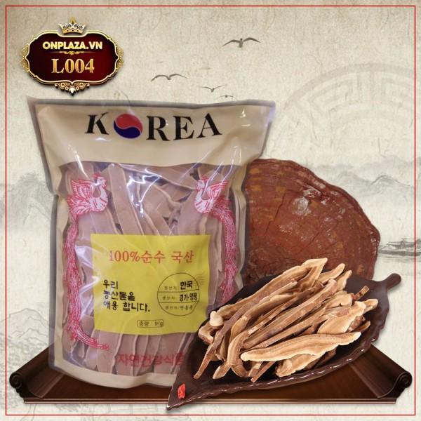Nấm linh chi đỏ thái lát Hàn Quốc L004