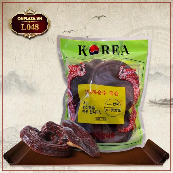 Nấm linh chi đỏ thượng hạng nhập khẩu Hàn Quốc L048
