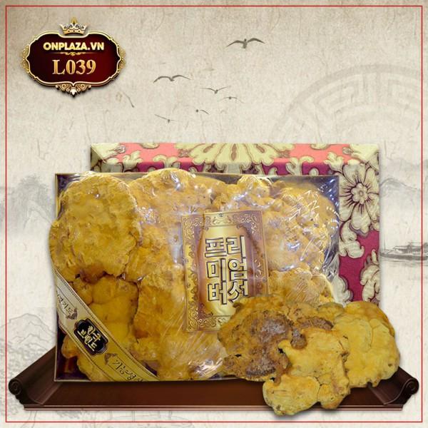 Nấm Linh Chi Thượng Hoàng loại thượng hạng hộp quà biếu 1kg L039