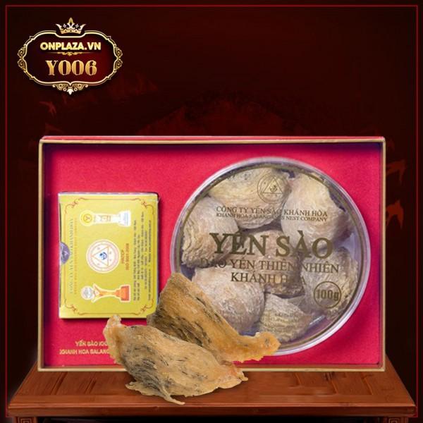 Yến hồng nguyên chiếc Khánh Hòa hộp 100g-Y006