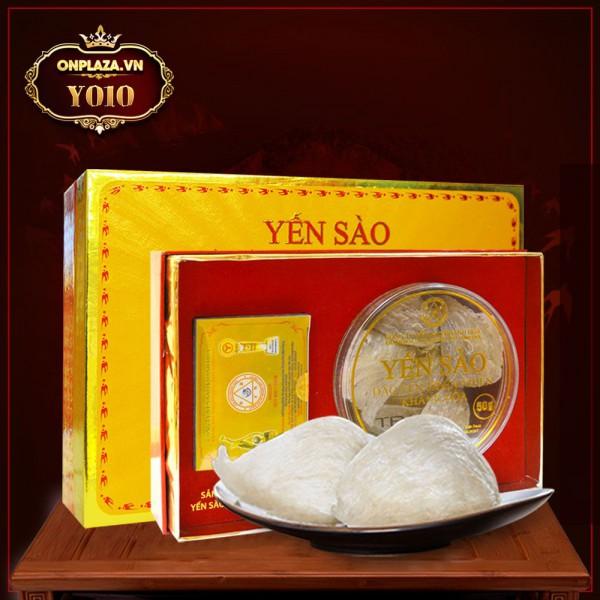 Tổ yến sơ chế nguyên chất Khánh Hòa hộp 50g TP3 Y010