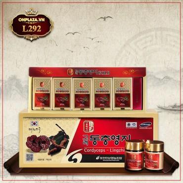 POCHEON Cao linh chi đông trùng Hàn Quốc cao cấp hộp 5 lọ L292