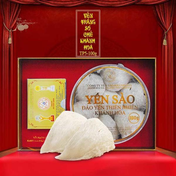Yến nguyên tổ Khánh Hòa hộp 100g TP5 Y005