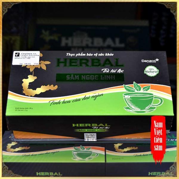 Trà Ngọc Linh Herbal cao cấp túi lọc (40g) NS670