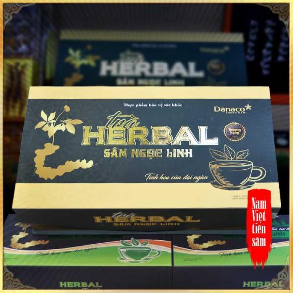 Trà sâm Ngọc Linh herbal túi lọc cao cấp (40g) NS669