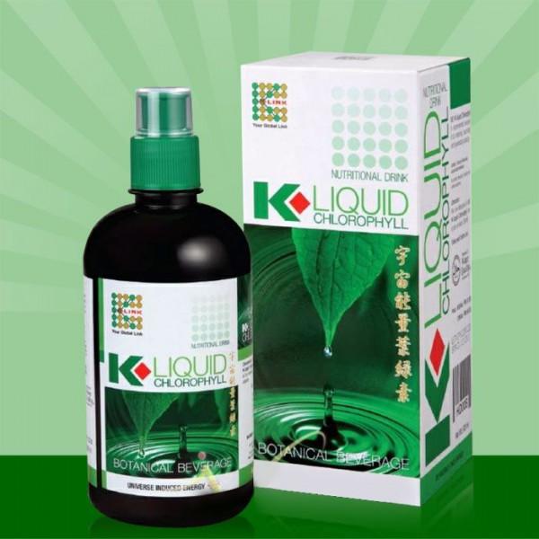 Nước diệp lục cao cấp Klink Liquid Chlorophy II – thải độc cho cơ thể K004