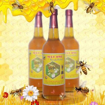 Mật ong hoa rừng loại đặc biệt loại 1000g (Chai thủy tinh) MO002