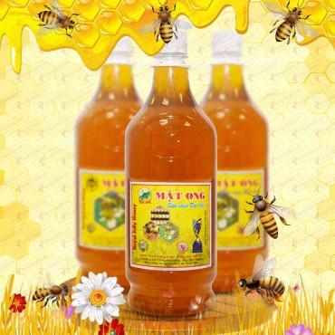 Mật ong rừng sữa chúa loại đặc biệt nguyên chai 1400g (Chai nhựa) MO007