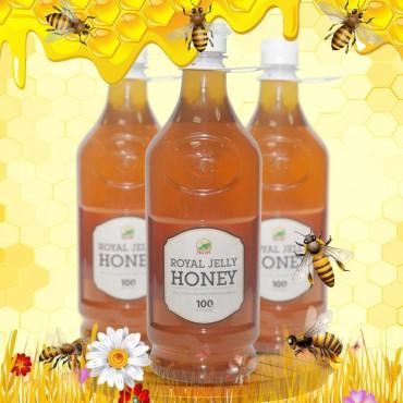 Mật ong sữa chúa loại đặc biệt chuyên dùng xuất khẩu 1400g (Chai nhựa) MO009
