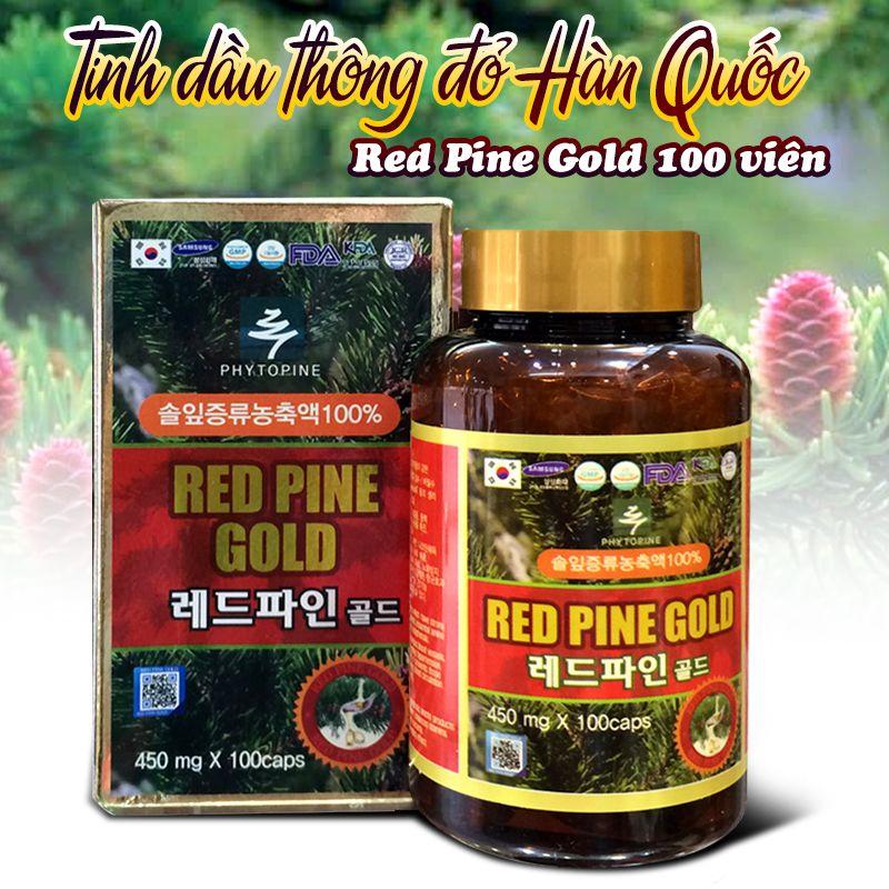 Tinh dầu thông đỏ Hàn Quốc Red Pine Gold 100 viên 1